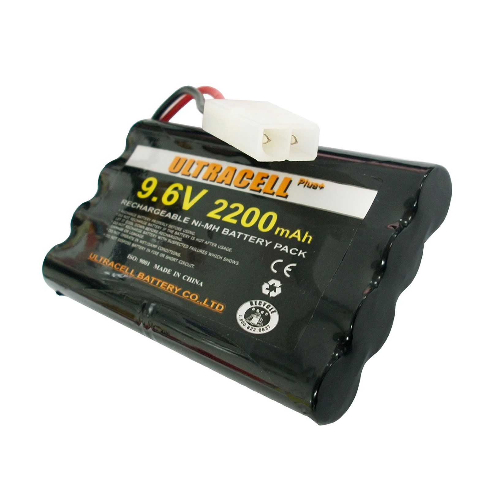 9 6v 8 Aa 2x4 2200mah Nimh Rechargeable Battery Pack
