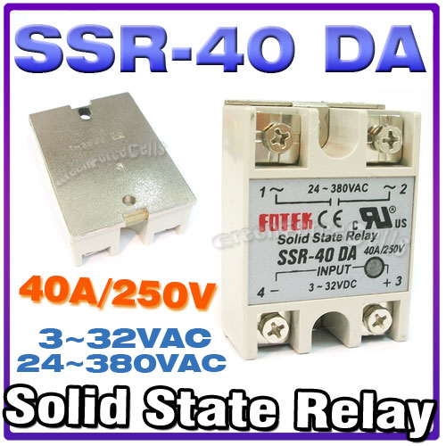 Ssr Solid State Relay For Pid Temperature
